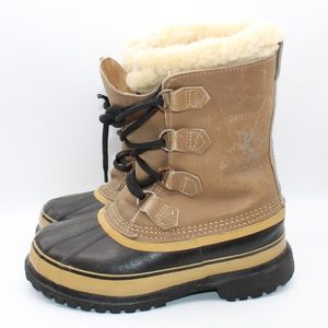 Sorel Kaufman Caribou Winter Boots Women's Sz 6